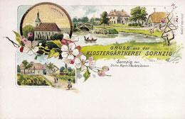 Postkarte Klostergärtnerei